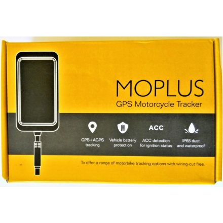Moplus 0700 motorkerékpár GPS nyomkövető