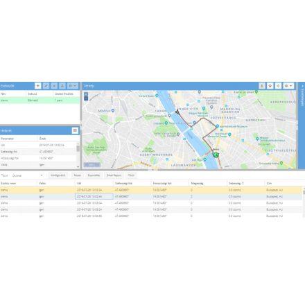 Nálunk vásárolt egyéb GPS Nyomkövetők gps.holvagyunk.hu térképes útvonal megjelenítője