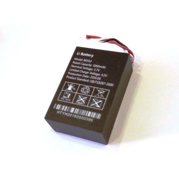 5000mAh -es akkumulátor a GT03-C GPS Nyomkövetőhöz